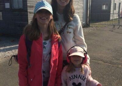 Julia Lewman with daughters Kayleigh & Chloe